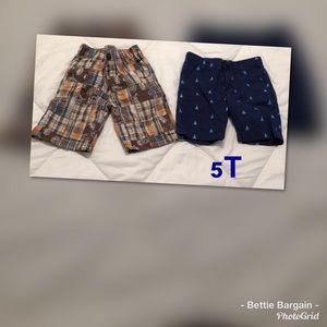 5T.    2pc Shorts Lot